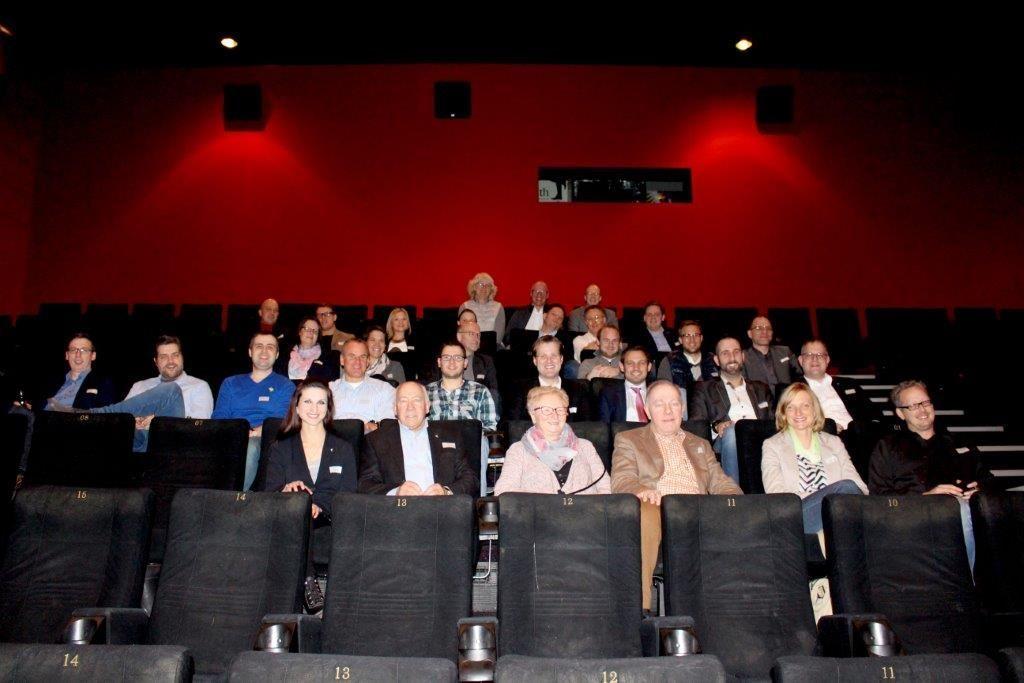 Wirtschaftsjunioren Zu Gast Im CineStar